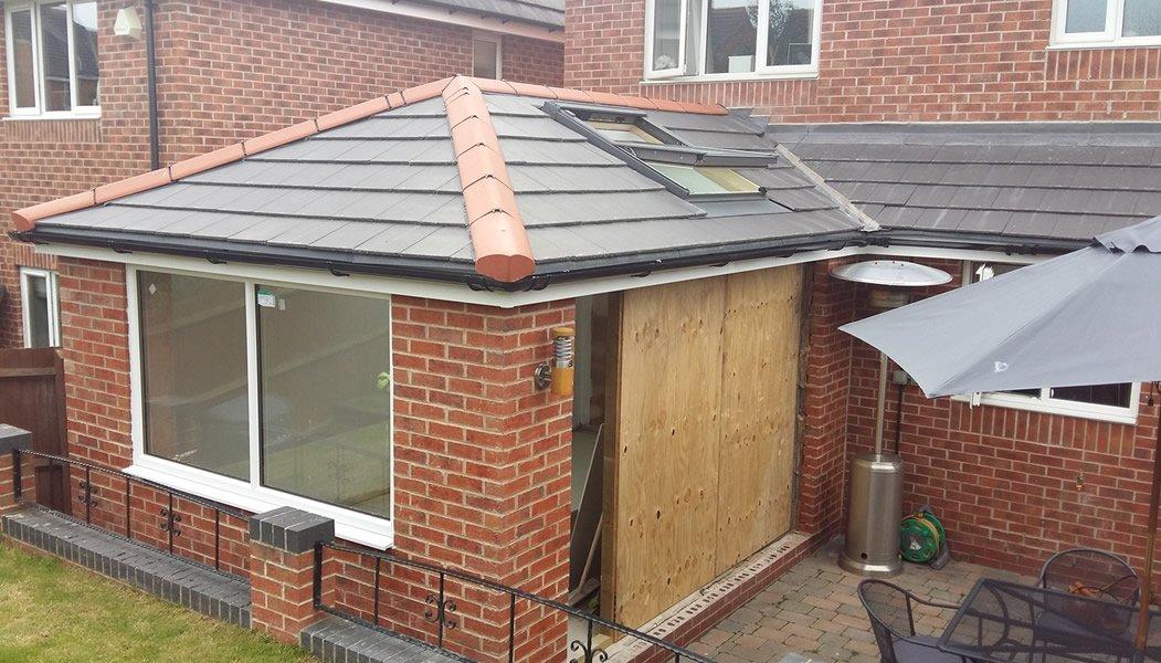 Midland Roofline Roofing job